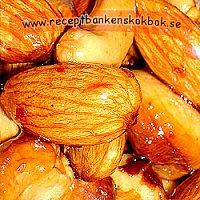 Honung och chillirostade nötter