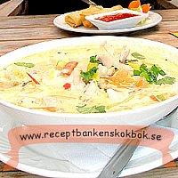 Tom kha gai / Thailänsk Kycklingsoppa