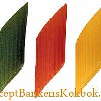 Mezze Penne Tricolore Peperonata e Pollo