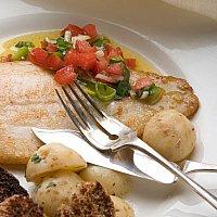 Sikkes fisk & salsa recept