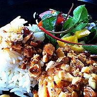 Chili-lax med cashewnötter och lime