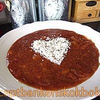 Godaste rabarberkrämen med smak av kanel..Veckans recept