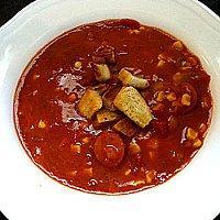 Krämig tomatsoppa, veckans recept..
