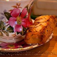 Saffransbiscotti med mandel