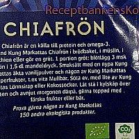 Chiagröt - Gröt gjord på Chiafrö