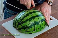 Vattenmelon utan kladd