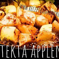 Stekta äpplen